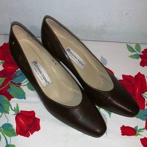 Etienne Aigner Leather Heels